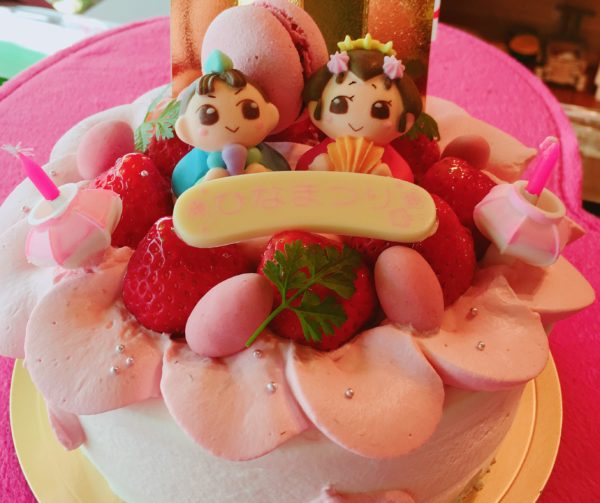 ひな祭りケーキご予約受付中!